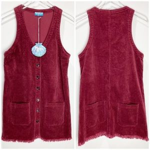 Show Me Your MuMu Mabel Mini Dress Dark Cranberry